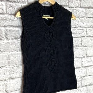 Tommy Bahama Sweater Vest Sleeveless Cable Knit
